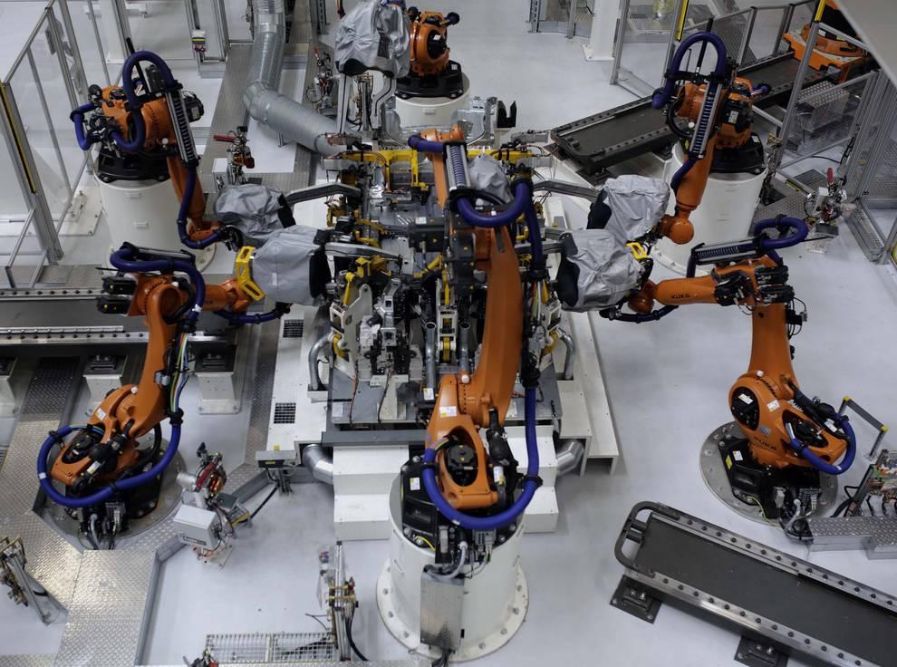 Pinzas de Soldadura y fresadoras Volkswagen Navarra